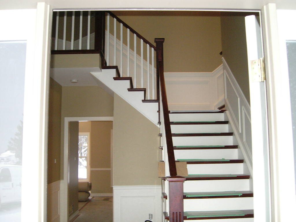 Prefinishing for Hardwood floors on stairs